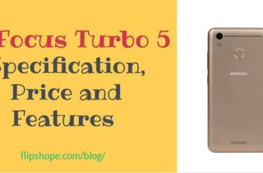 InFocus Turbo 5 Specifications, price and features in India