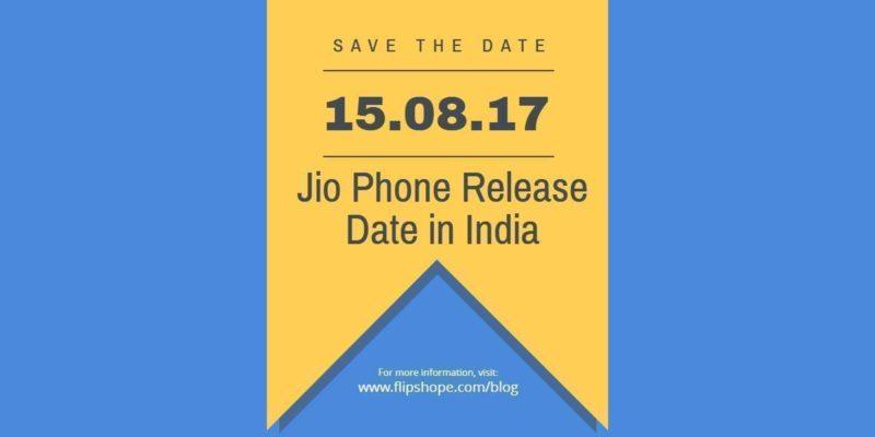Jio Phone Release Date in India
