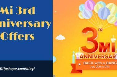 Mi 3rd Anniversary Offers