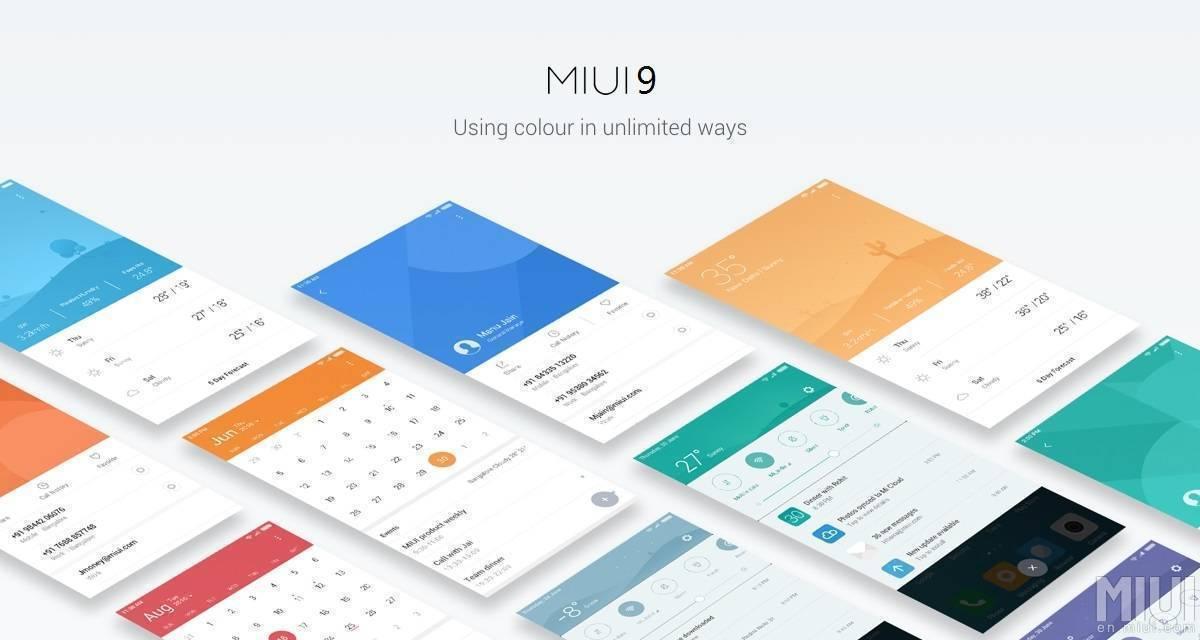 Xiaomi's MIUI 9 OS Update