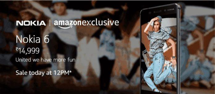 Amazon nokia 6 offers