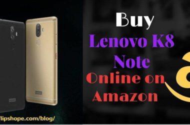 Buy Lenovo K8 Note Online on Amazon