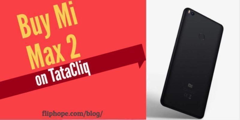 Buy Mi Max 2 TataCliq