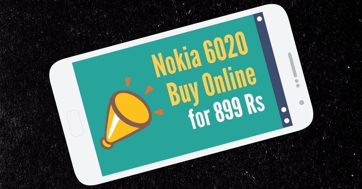 Buy Nokia 6020 Online Booking