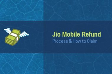 how to claim Jio mobile refund