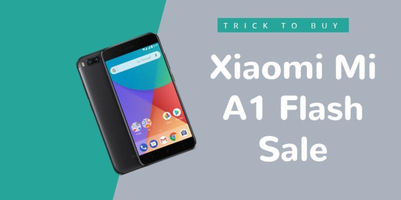 Xiaomi Mi A1 flash sale