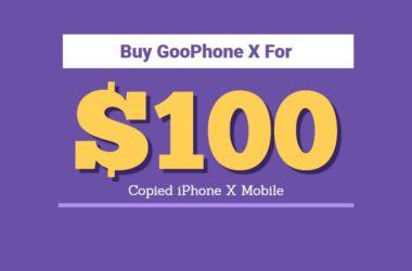 buy goophone x price specifications