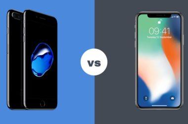 goophone x vs iphone x comparison