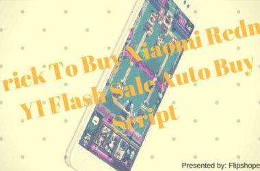 Redmi Y1 Flash Sale