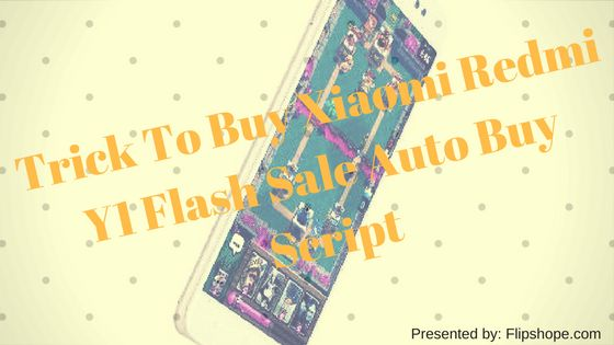 Redmi Y1 Flash Sale