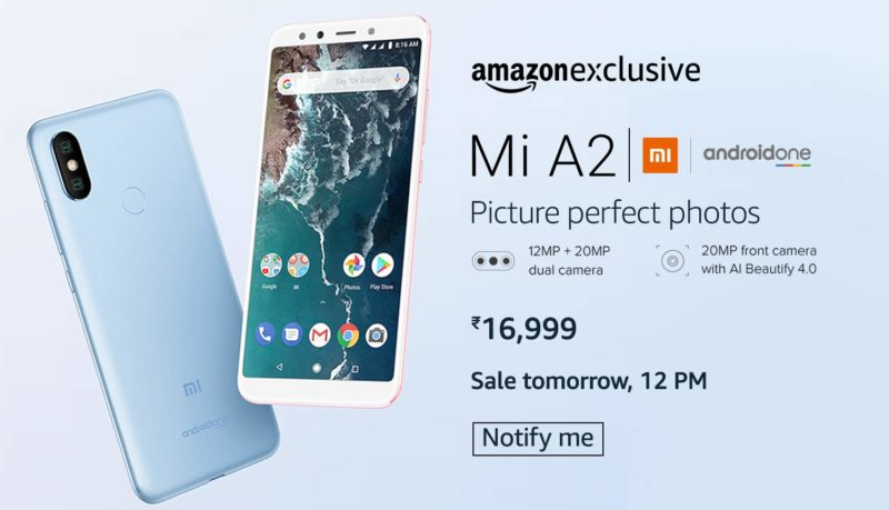 how to buy mi a2 flash sale