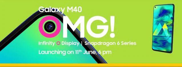 samsung M40 release date