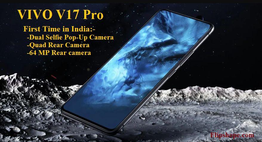 Vivi V17 Pro, Vivo's latest smartphone with dual selfie camera and 64MP Quad Rear camera