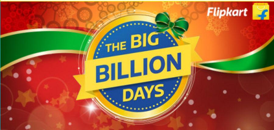 Flipkart Big Billion Days Sale : Huge Discount Sale