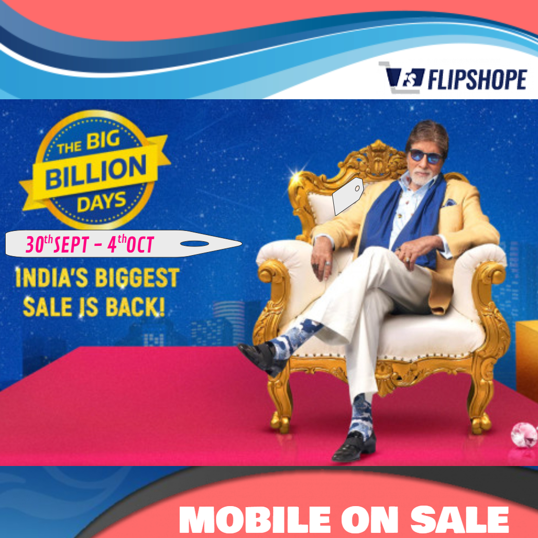 Flipkart Big Billion Days 2019 Sale: Today's Offers on Mobile Phones