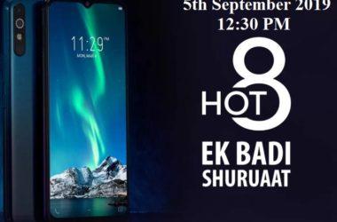 Infinix Hot 8 in India