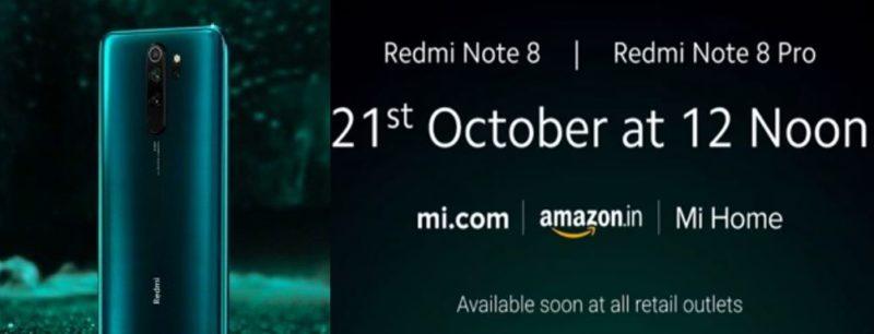 Redmi Note 8 Pro Price in India