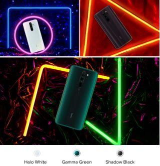 redmi note 8 Pro colours