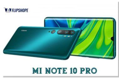 Mi Note 10 Pro Price in India
