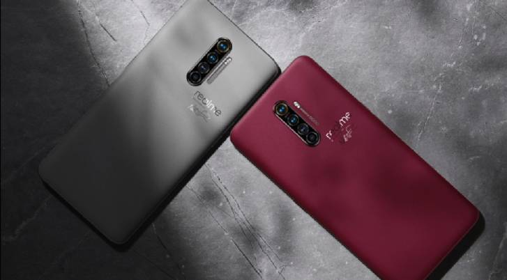 Realme x2 Colours and back look and camera setuup