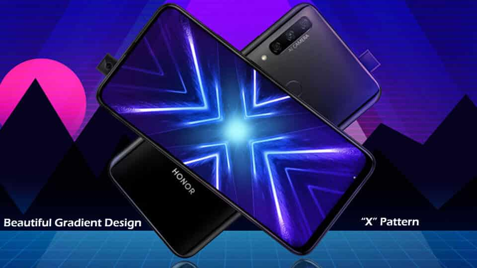 Honor 9X Design