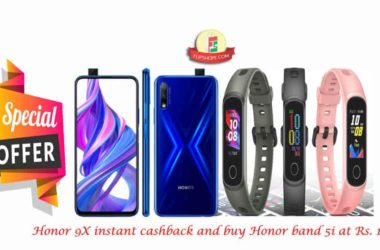 Honor 9X launch offers