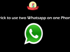 How to use two Whatsapp on one Phone