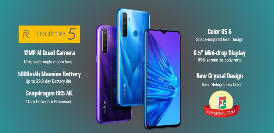 Realme 5 price in india
