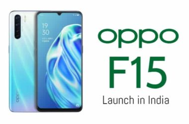 Oppo F15 Launch in India