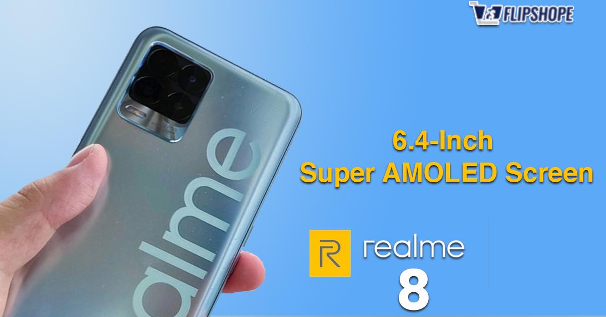 Realme 8 Specs of Display