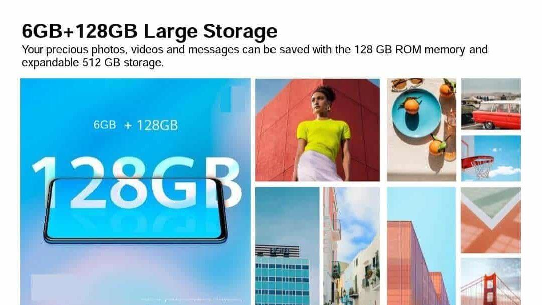honor 9x storage