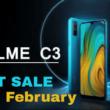 Realme C3 Next Flash Sale Date