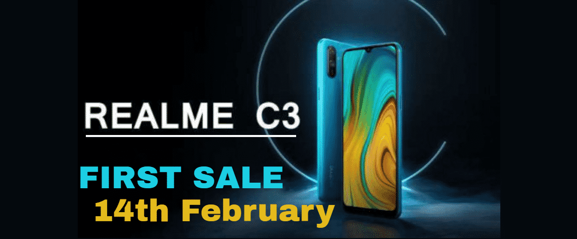 Realme C3 Next Flash Sale Date
