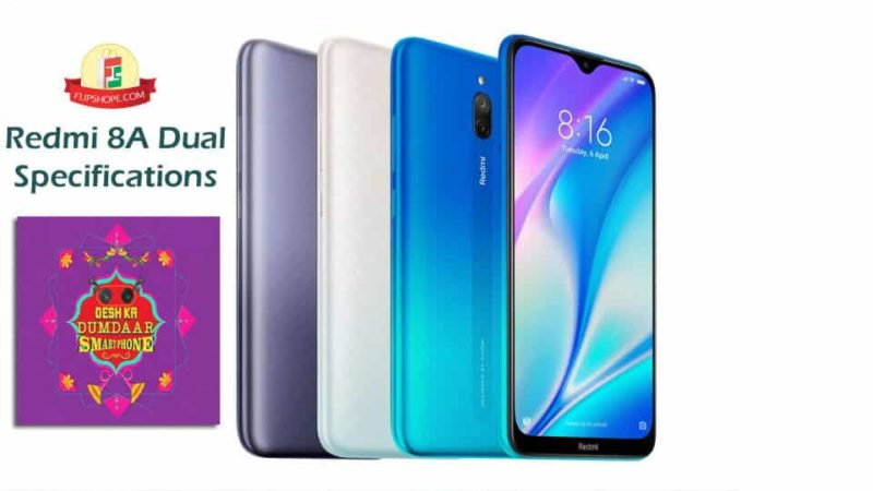 Redmi 8A Dual Specifications