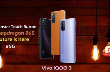 Vivo iQOO 3 specifications