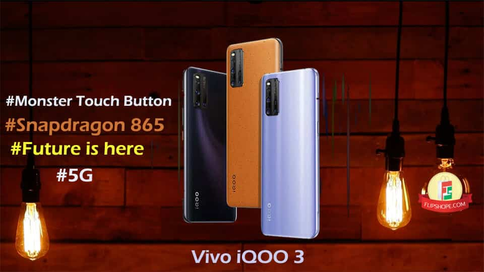 Vivo iQOO 3 specifications