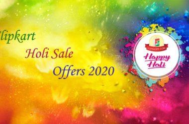 Flipkart Holi sale offers 2020