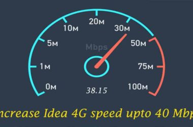 How to increase Idea 4G speed