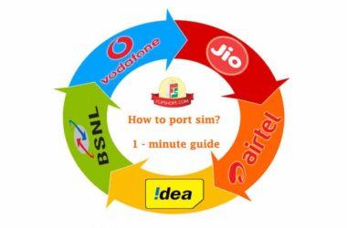 How to port sim
