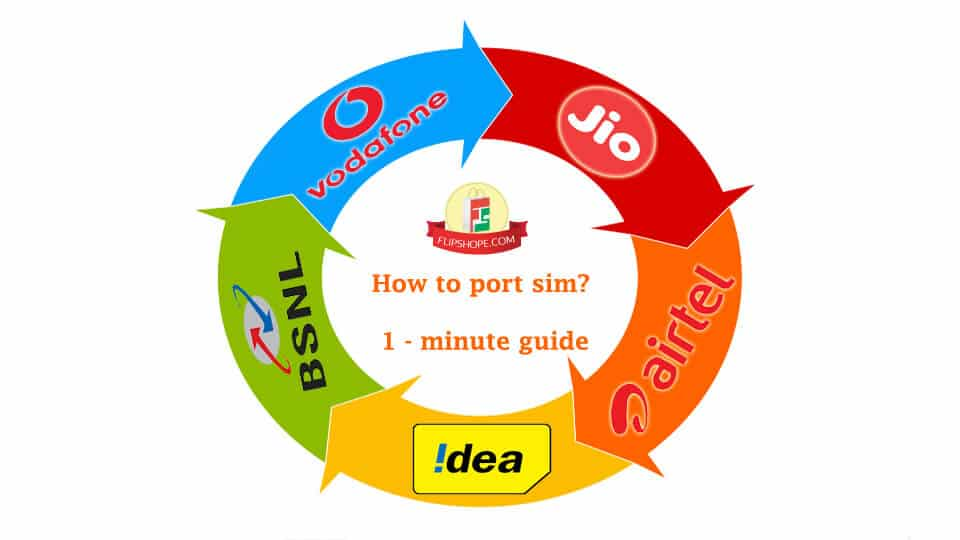 How to port sim