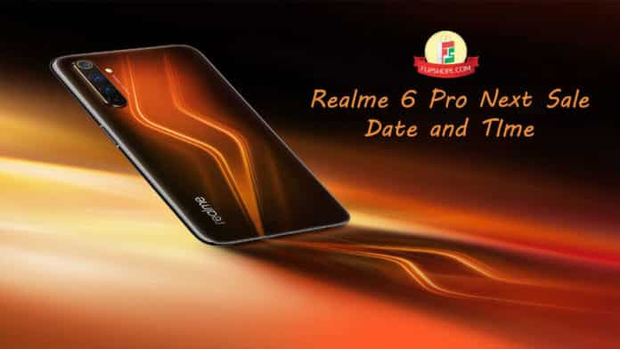 Realme 6 Pro next sale date and time