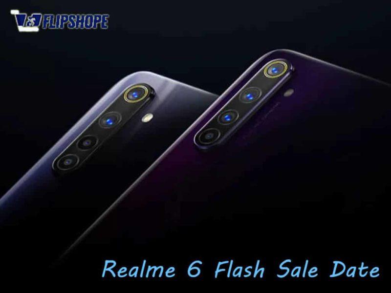 Realme 6 flash sale date