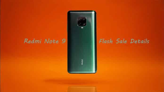 Redmi Note 9 Flash Sale