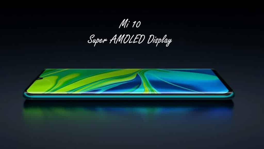 Xiaomi Mi 10 5G Display