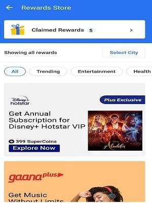 Flipkart Rewards
