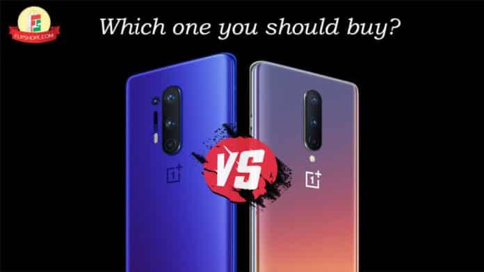 OnePlus 8 vs 8 Pro