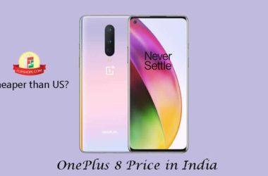 OnePlus 8 price in India