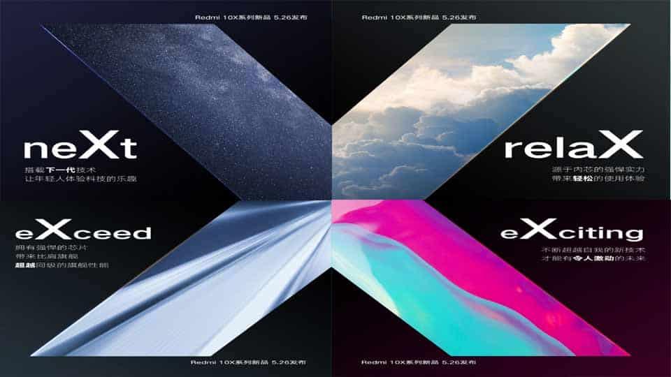 XIaomi Redmi 10X Teaser