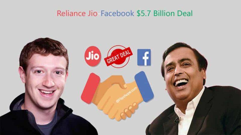 Reliance Jio-Facebook Deal