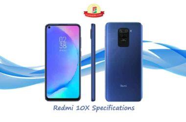 Xiaomi Redmi 10X Specifications